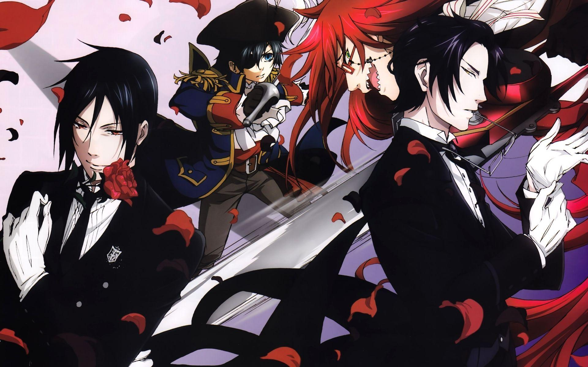 46 Black Butler HD Wallpapers | Backgrounds - Wallpaper Abyss ...