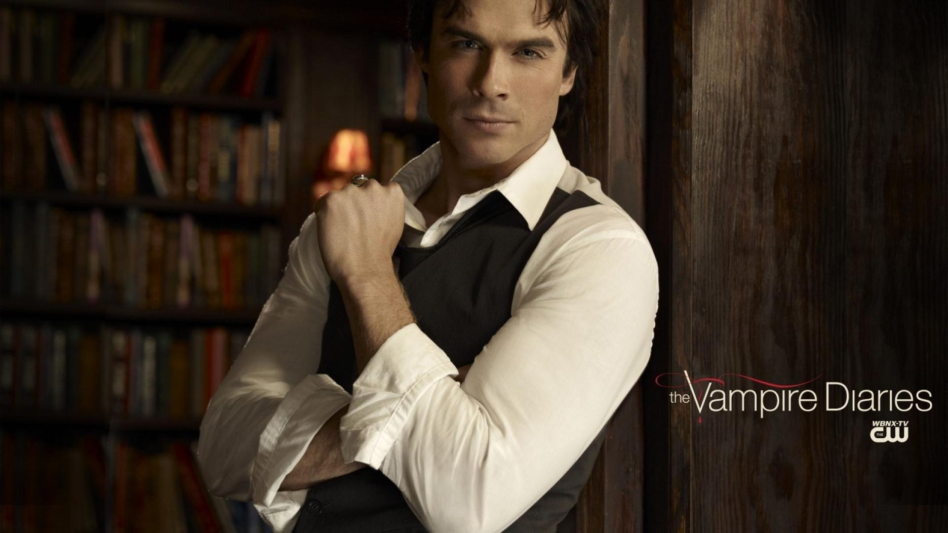 The vampire diaries ian somerhalder damon salvatore wallpapers