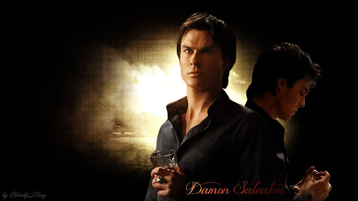 Damon Salvatore by BloodyMary