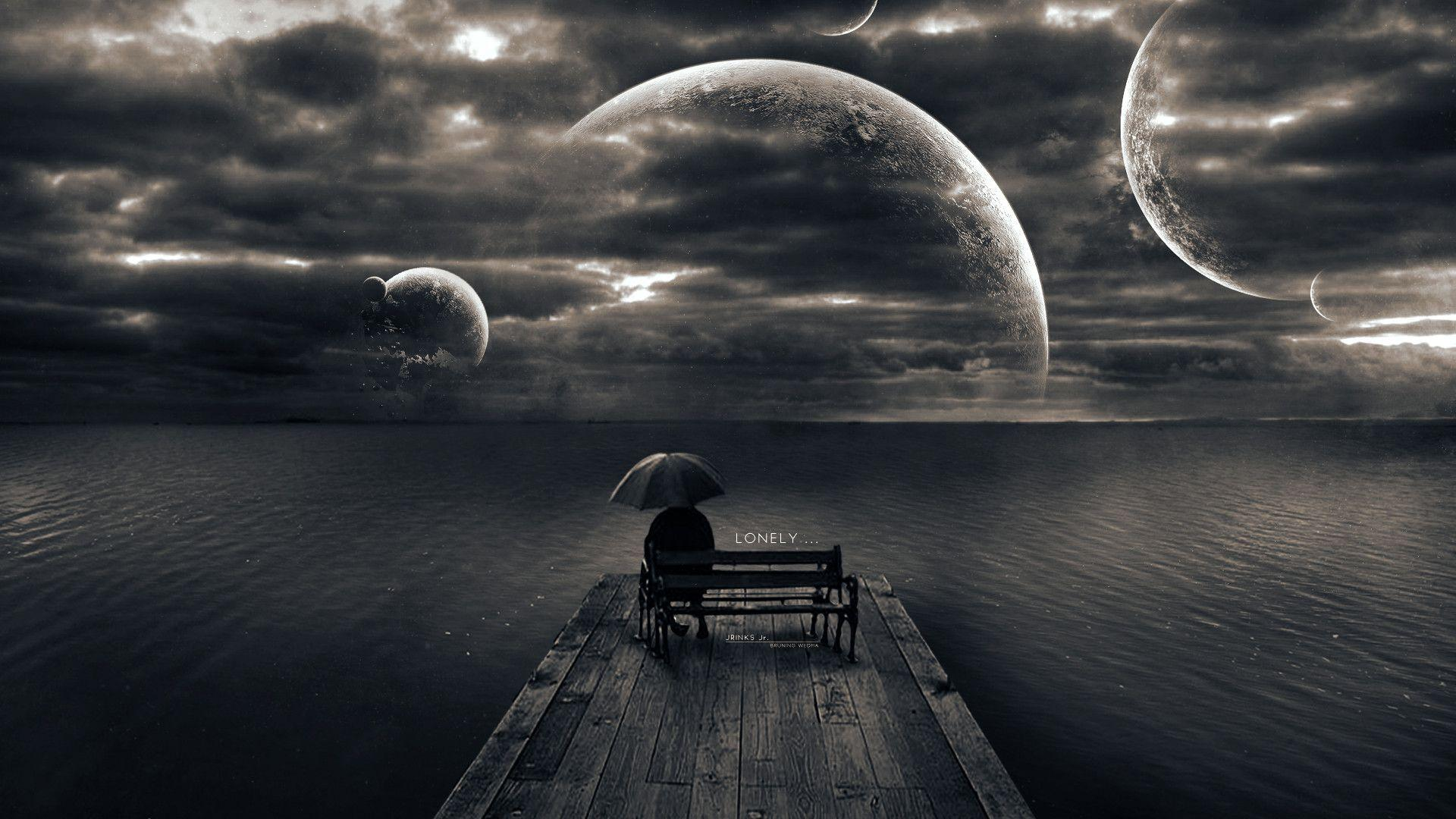 Loneliness Alone Wallpapers - Wallpaper Cave