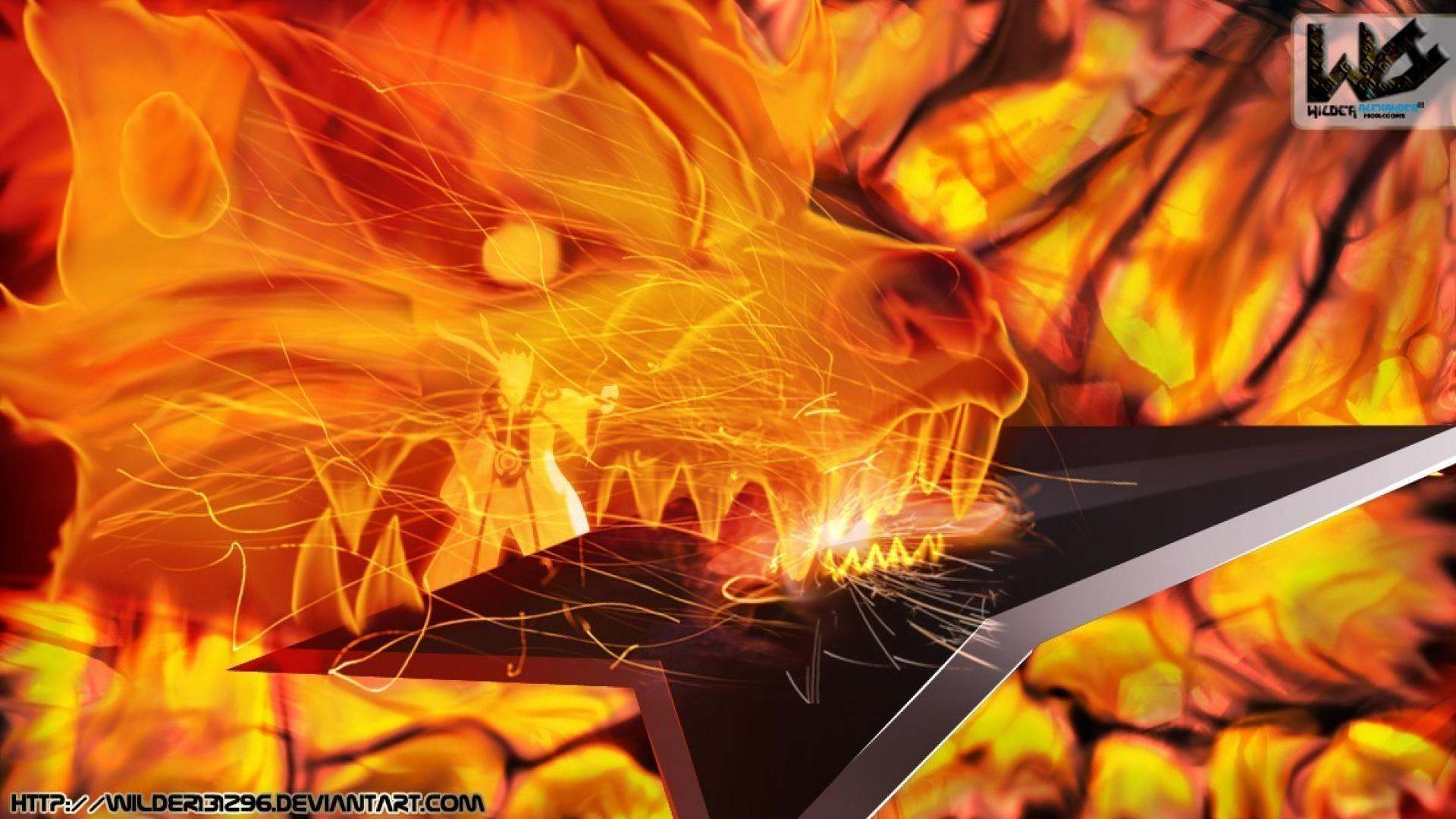 Wallpaper Of Naruto Nine L Fox Impremedia Net