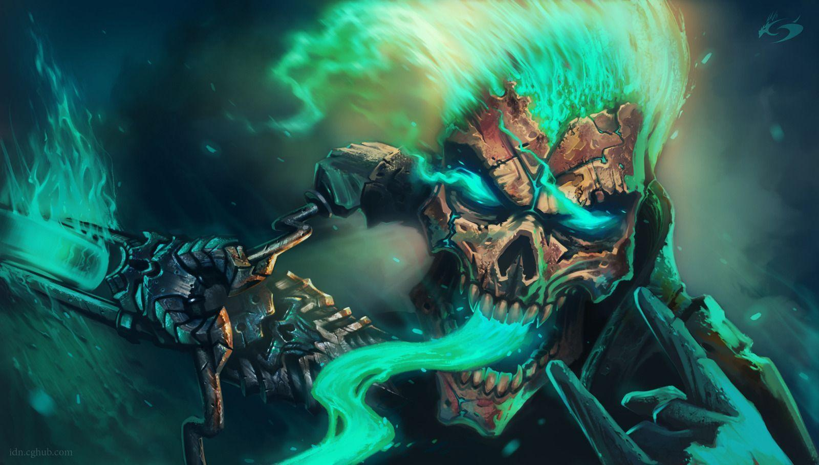 Awesome Skull Wallpapers