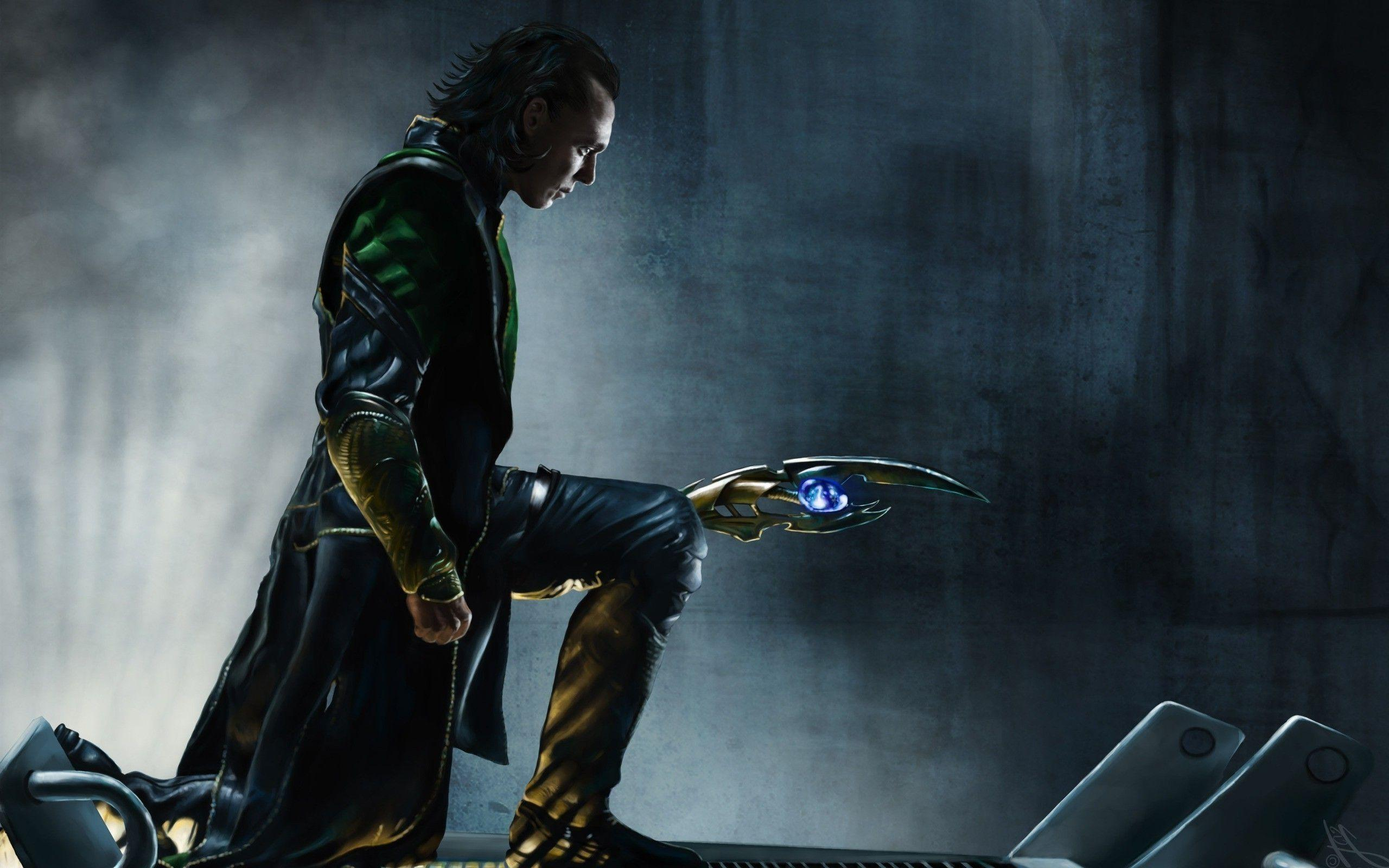 The Avengers Wallpapers Loki And Tesseract Wallpaper Cave