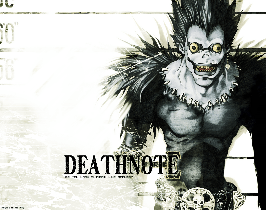 Death Note Ryuk Wallpapers Hd Wallpaper Cave