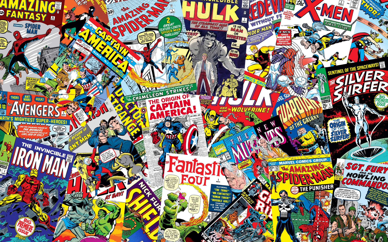 Marvel Comic Backgrounds - Wallpaper Cave