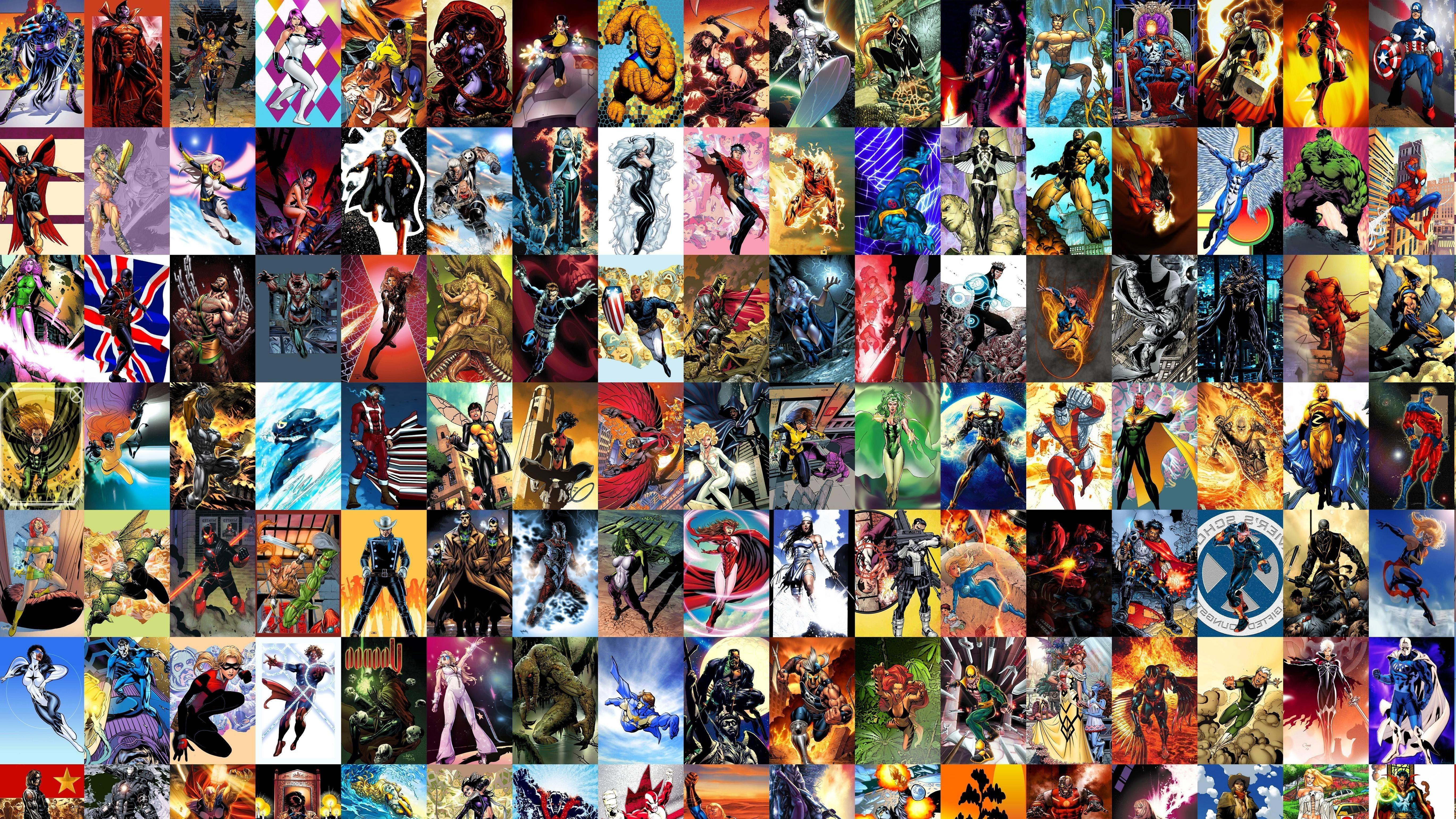 Marvel Comics, Heroes Wallpapers HD / Desktop and Mobile Backgrounds