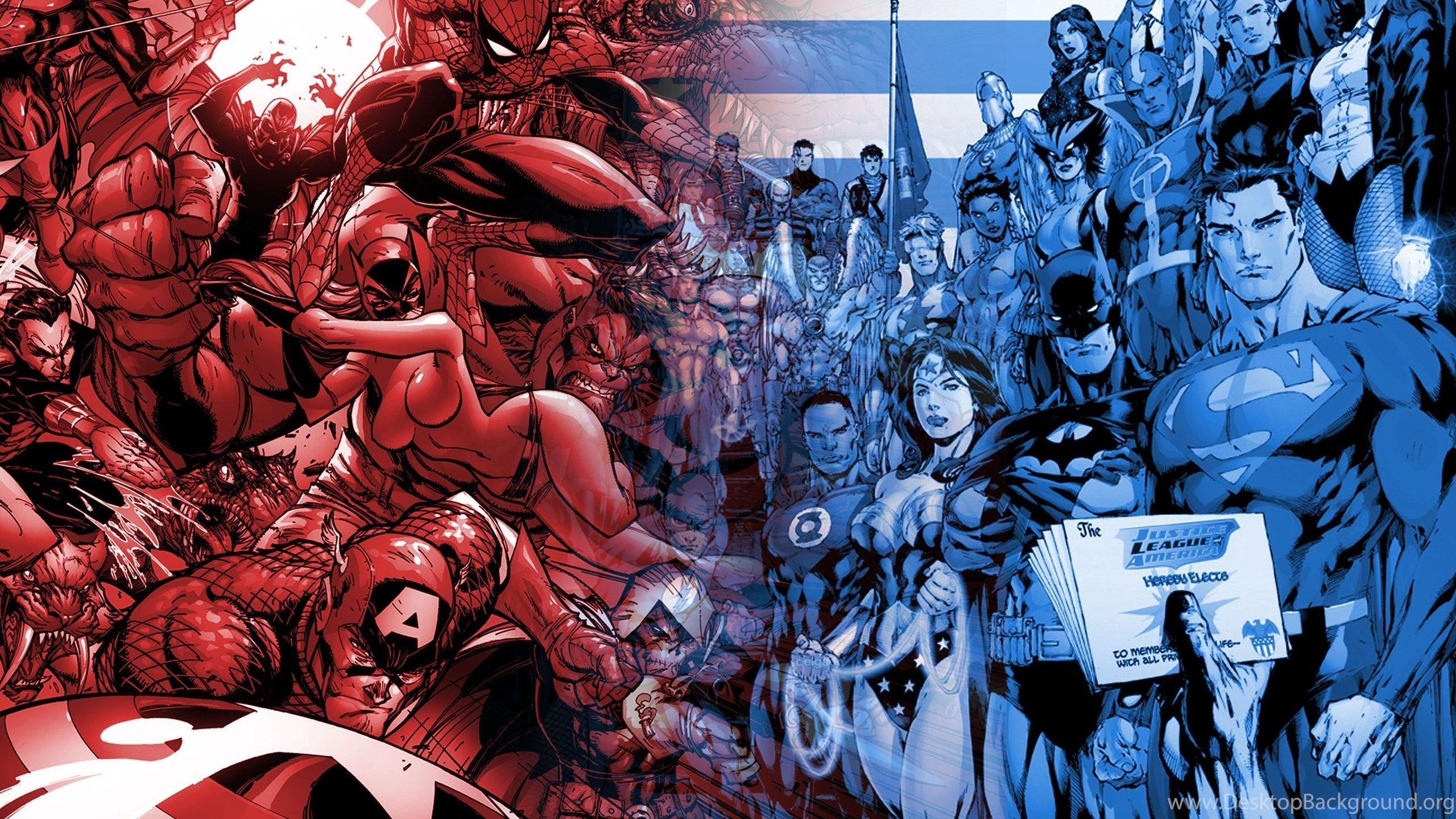 Marvel vs dc hd wallpapers wallpaper cave - Marvel and dc wallpapers ...