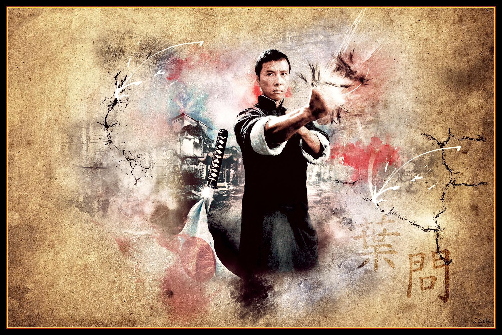 Ip Man And Bruce Lee Wallpapers Wallpaper Cave