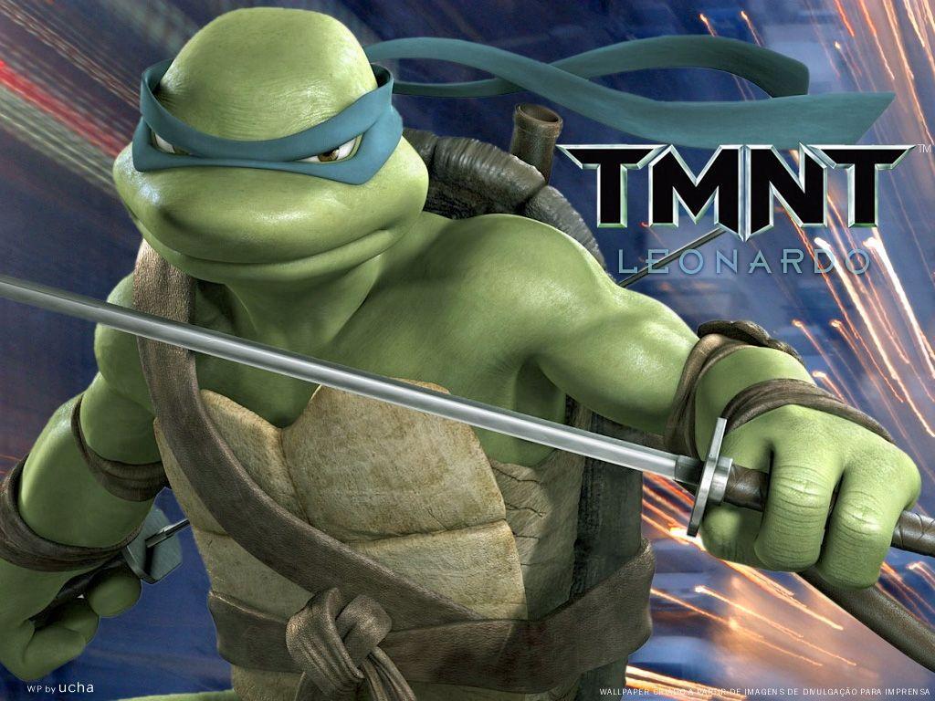 Teenage Mutant Ninja Turtles Leonardo Wallpapers Wallpaper Cave