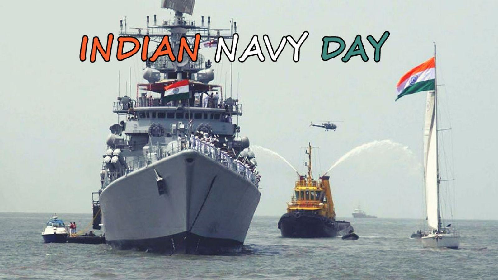 Happy Indian Navy Day Ships Wishes Greetings Hd Wallpapers