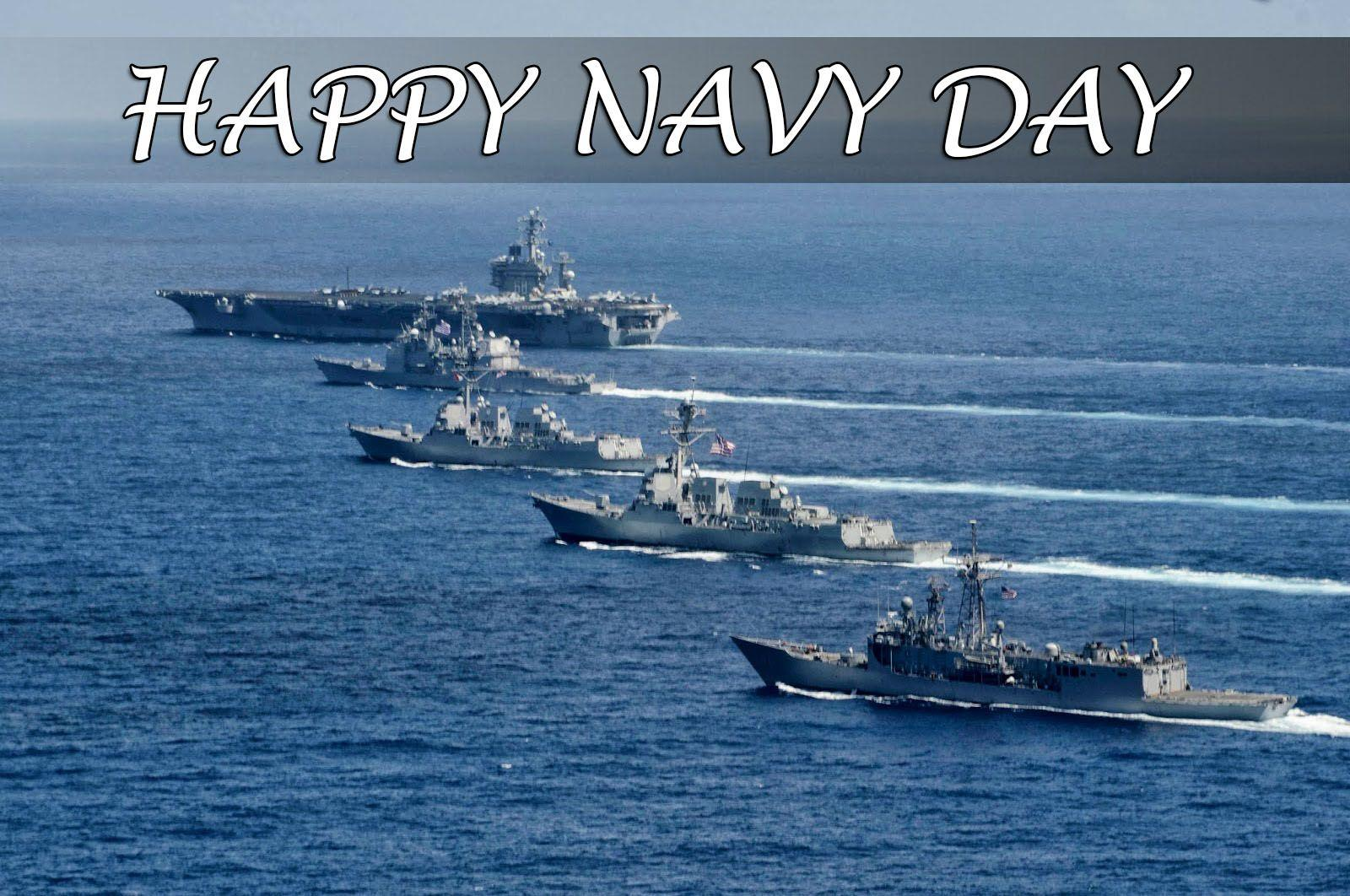 Happy Navy Day Ships Wishes Greetings PC Hd Wallpapers