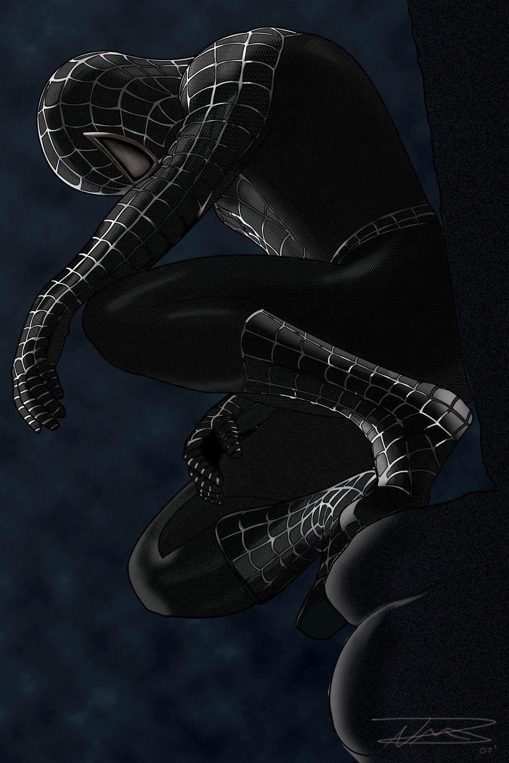 Black Spiderman 3 Wallpapers Wallpaper Cave