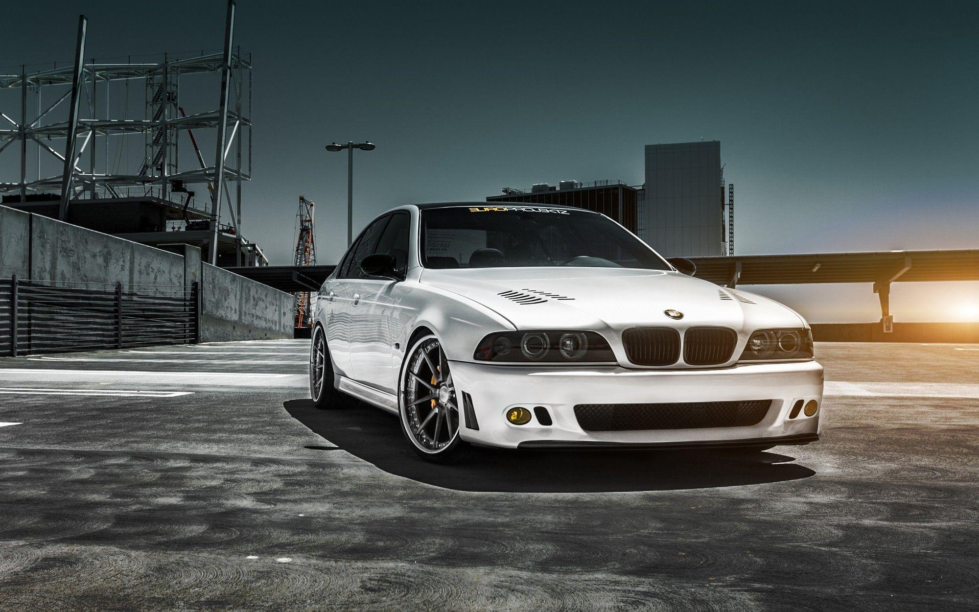 cars, tuning, BMW E39, M5 :: Wallpapers