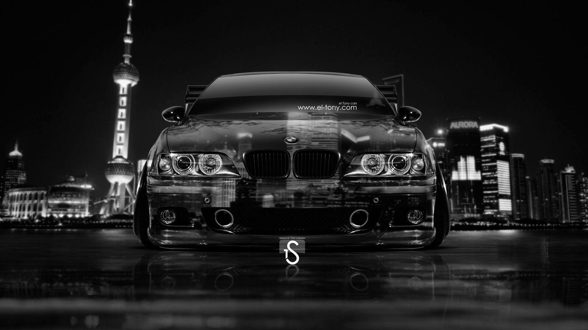 BMW M5 E39 Tuning Front Crystal City Car 2014