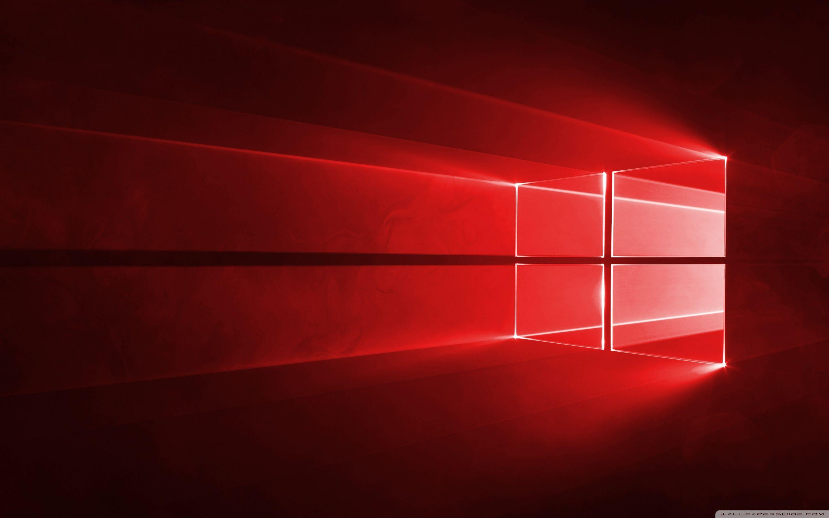 Windows 10 Red Wallpapers Wallpaper Cave