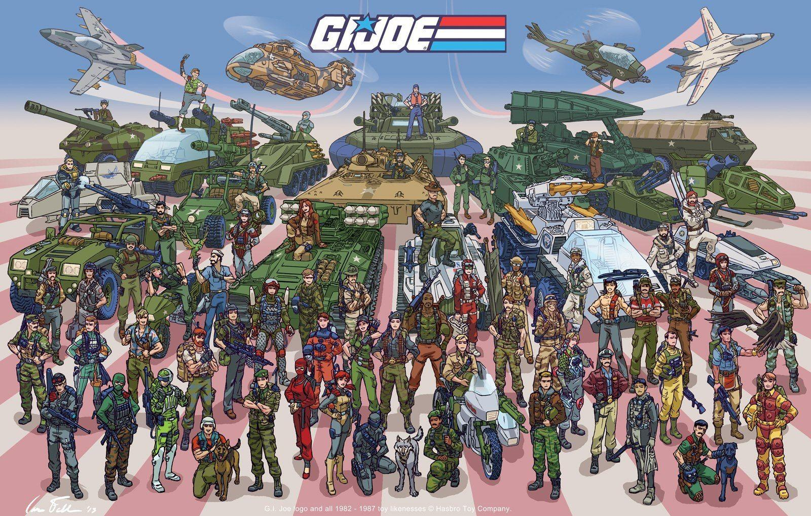 Artist Ian Fell Produces AMAZING GI Joe Poster