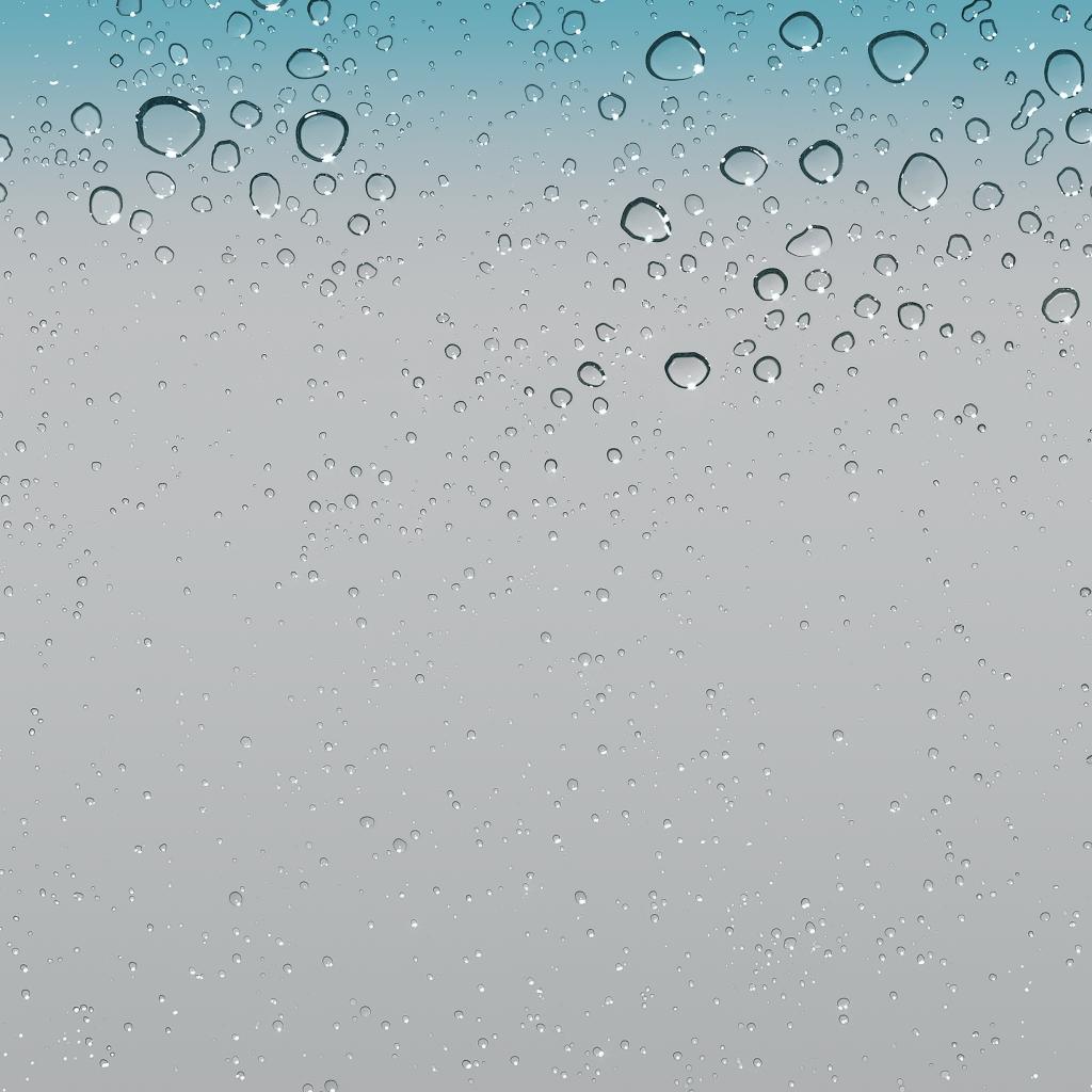 Ios Raindrops Wallpapers Wallpaper Cave