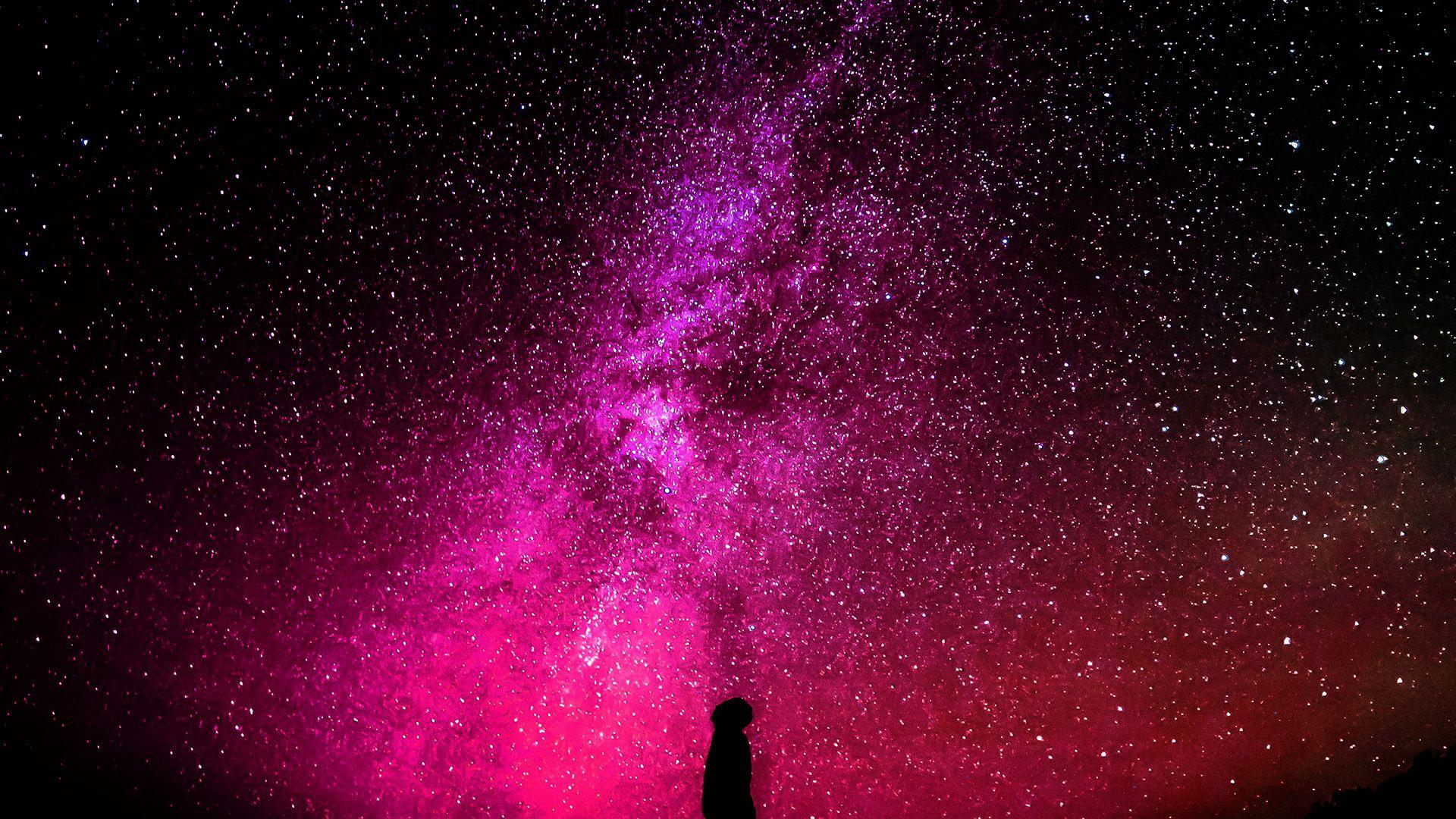 Pink Galaxy Wallpapers - Wallpaper Cave