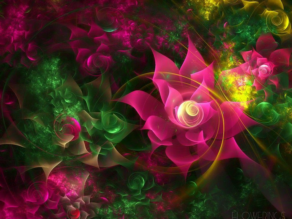 3d Flower Wallpapers Wallpaper Cave