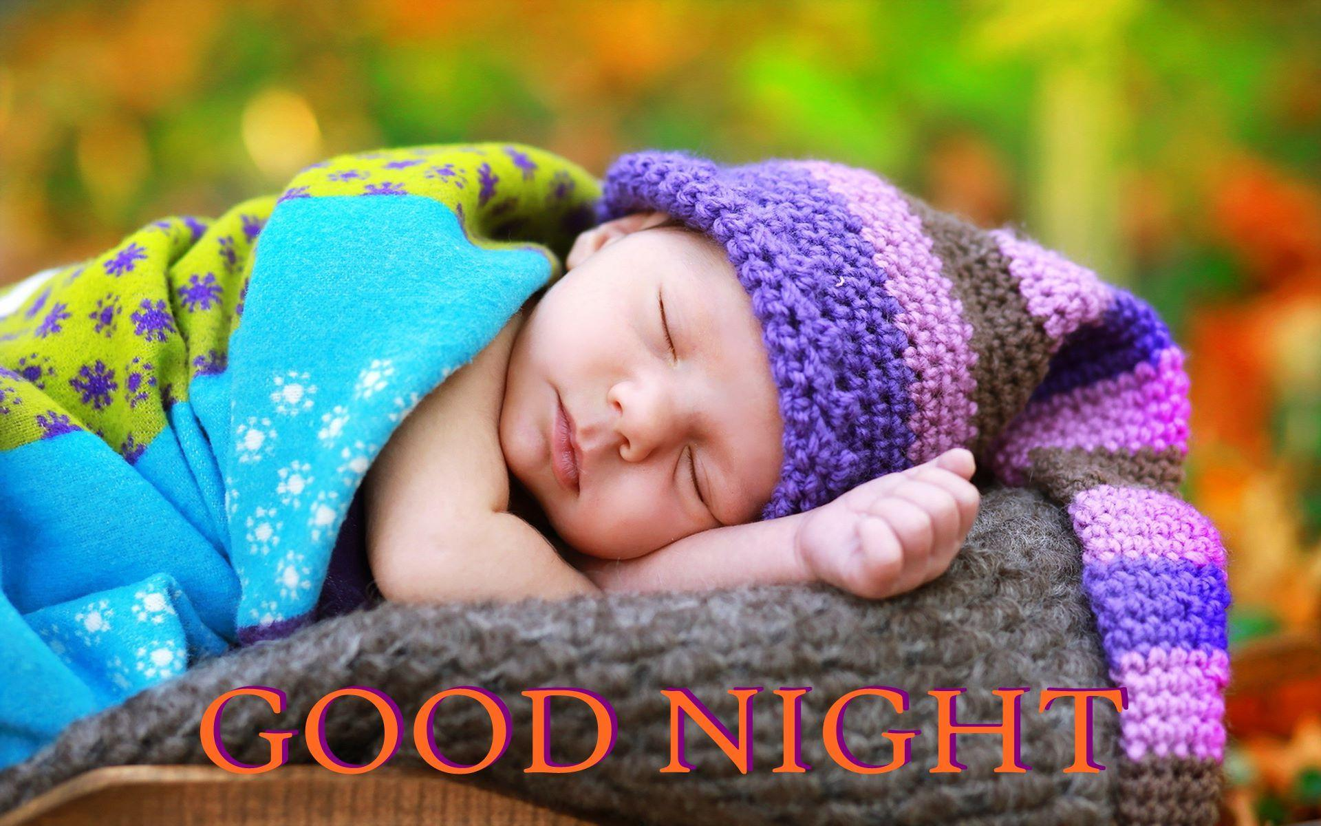 Good Night Baby Hd Wallpapers Wallpaper Cave