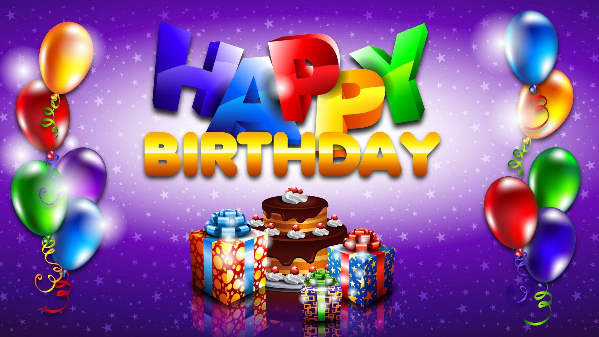 Happy Birthday Wallpapers Hd Wallpaper Cave