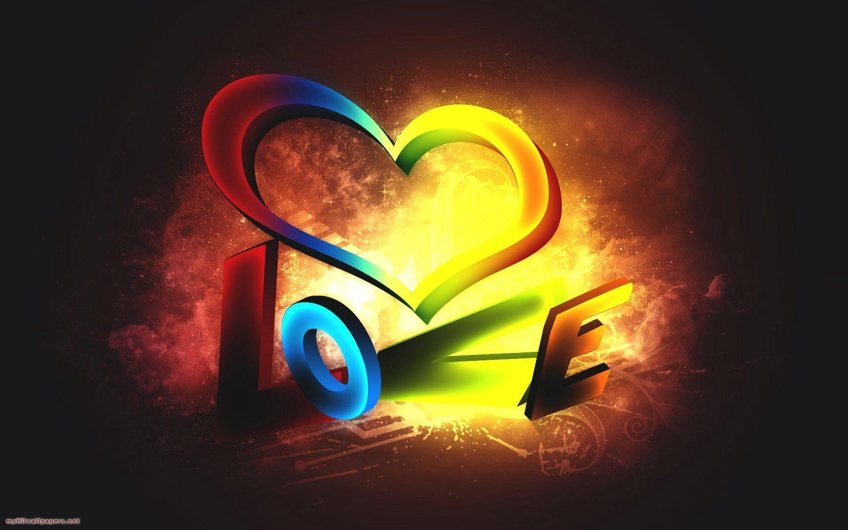 Love Hd 3d Wallpaper - Cool Wallpapers