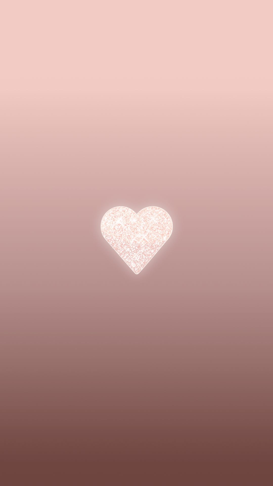 Rose Gold Heart Wallpapers Wallpaper Cave