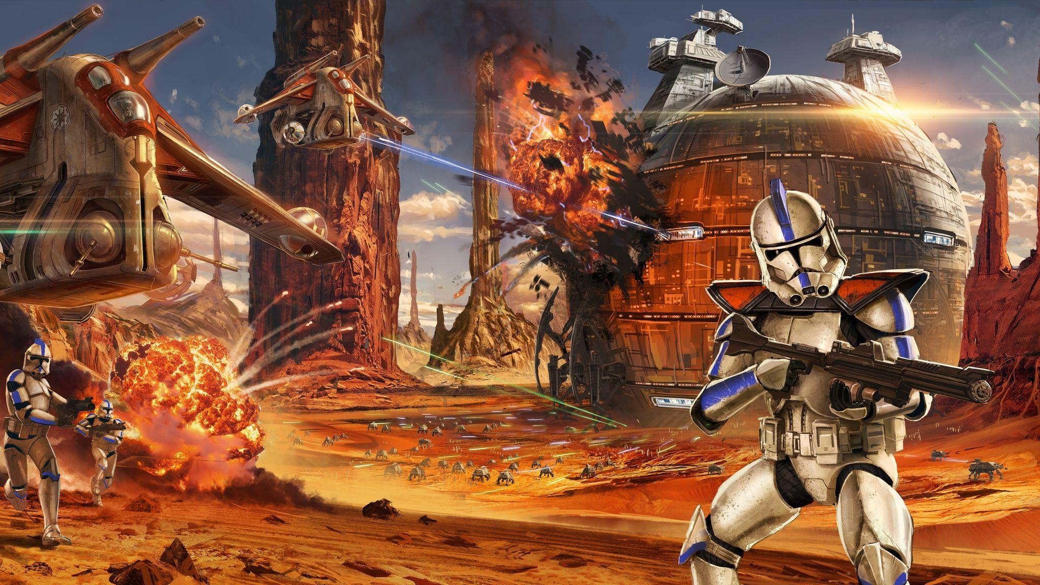 Star Wars Wallpapers Clone - Wallpaper Cave