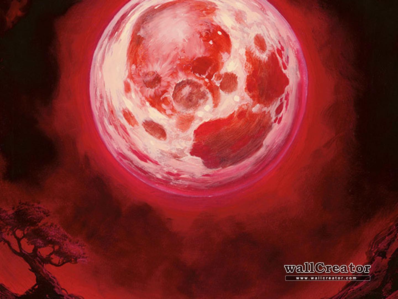 Blood Moon Mtg Wallpapers Wallpaper Cave