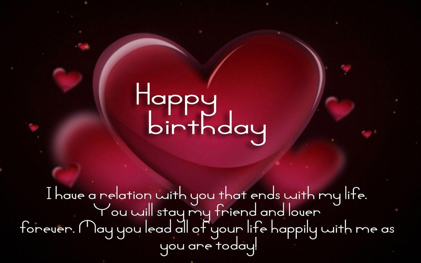 Happy Birthday love quotes, image, poems, messages