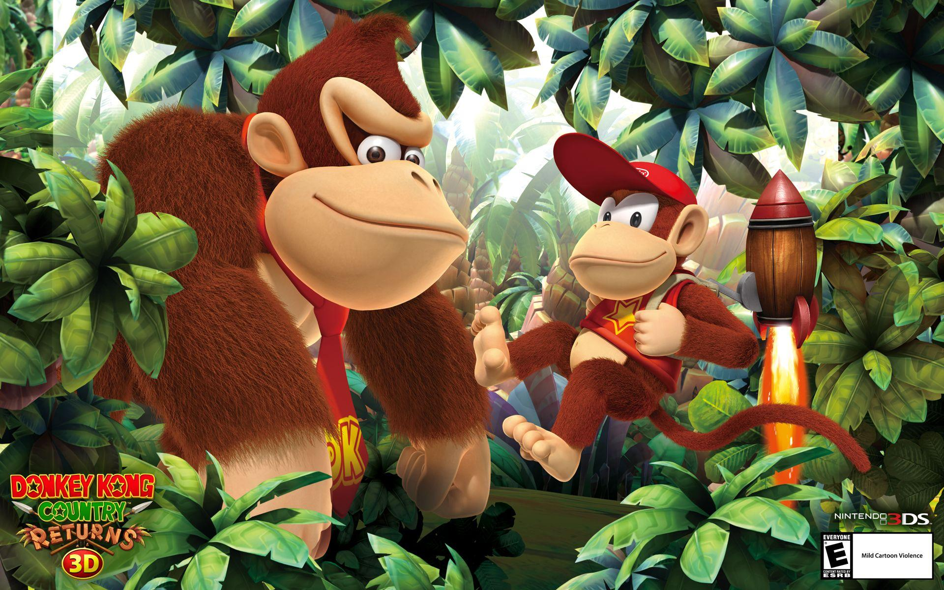 Donkey Kong Country 2 Hd Wallpapers Wallpaper Cave