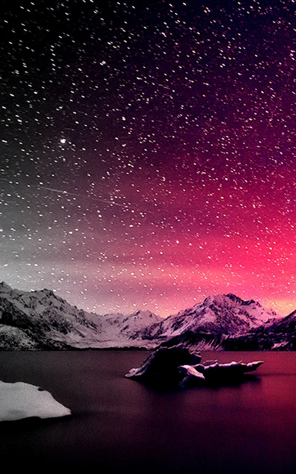 Beautiful Starry Night Sky Wallpapers - Wallpaper Cave