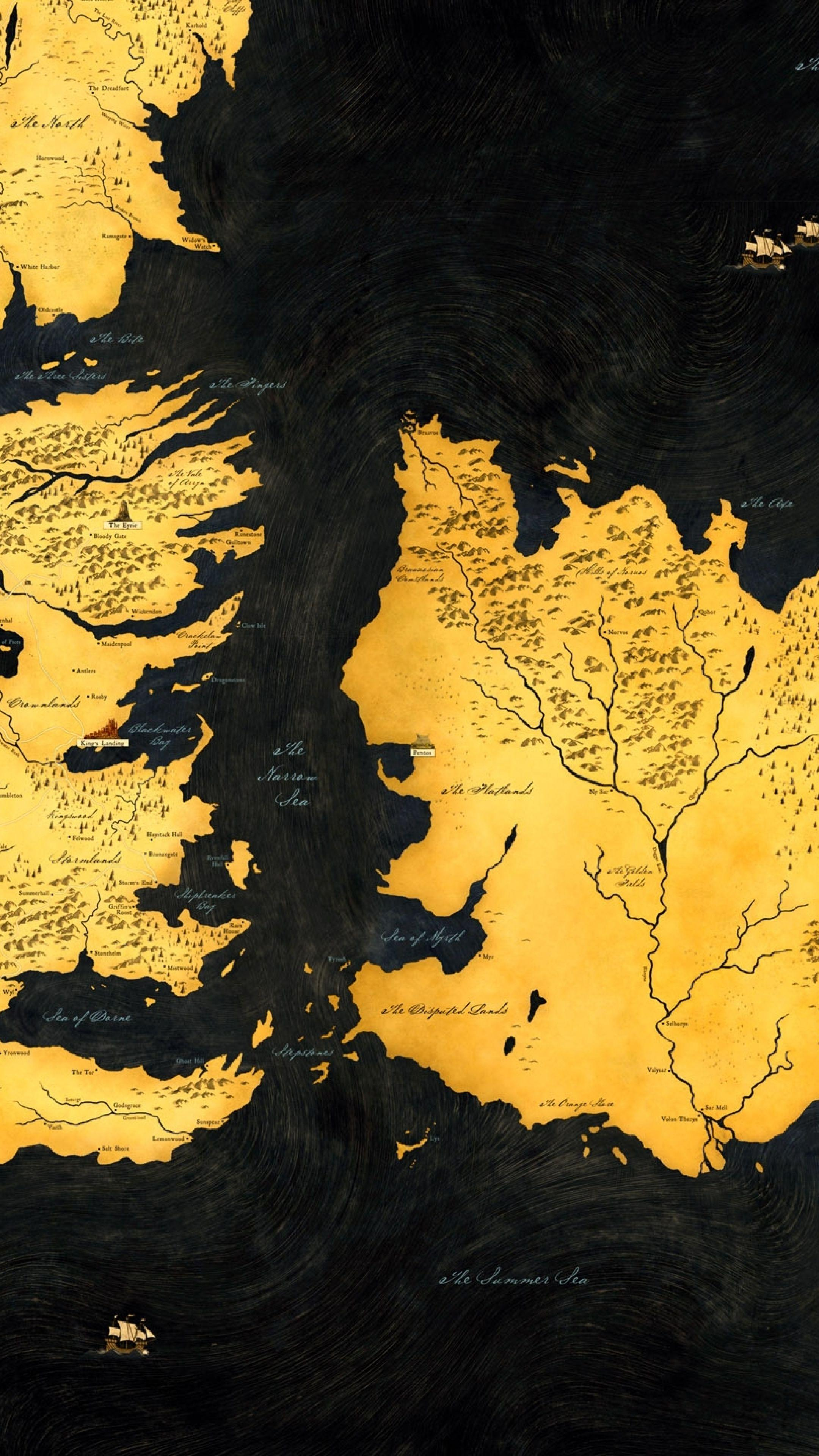 Game Thrones Map Wallpapers Wallpaper Cave