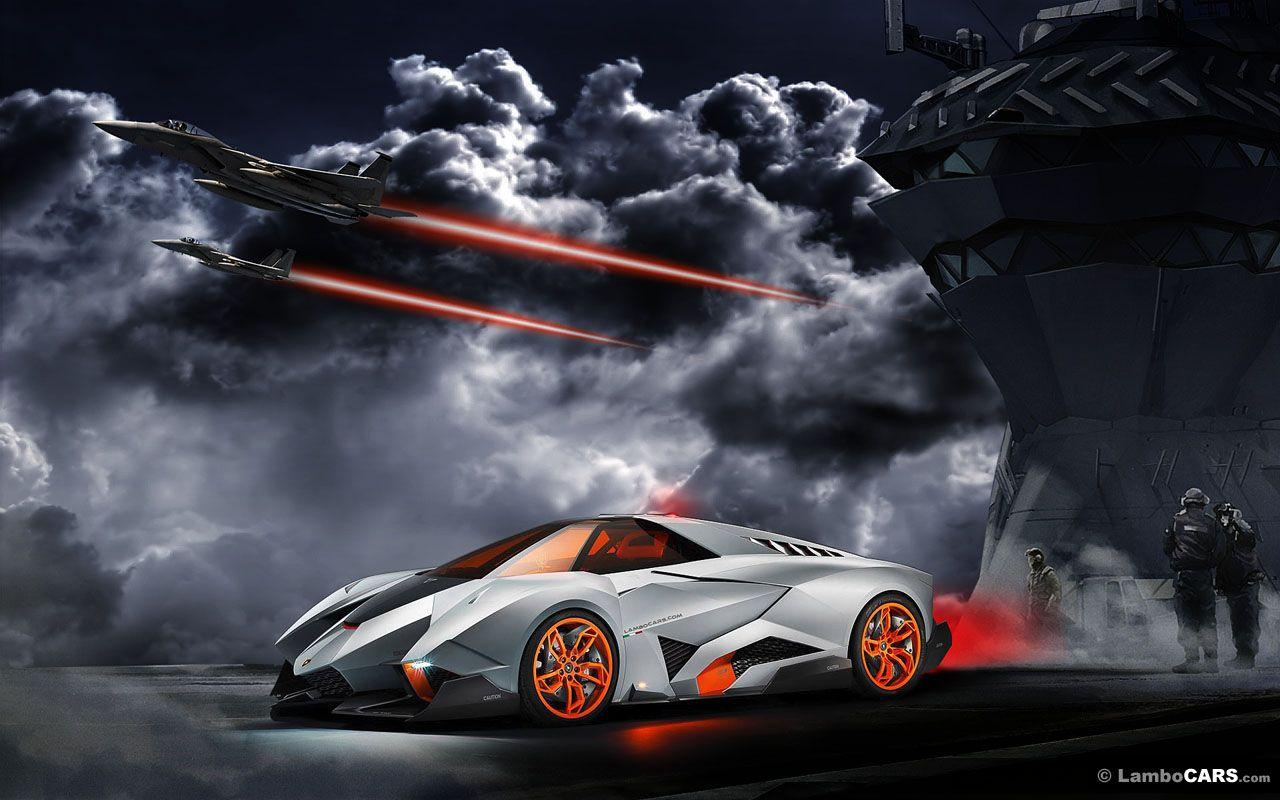 Lamborghini Egoista Wallpapers Hd Wallpaper Cave