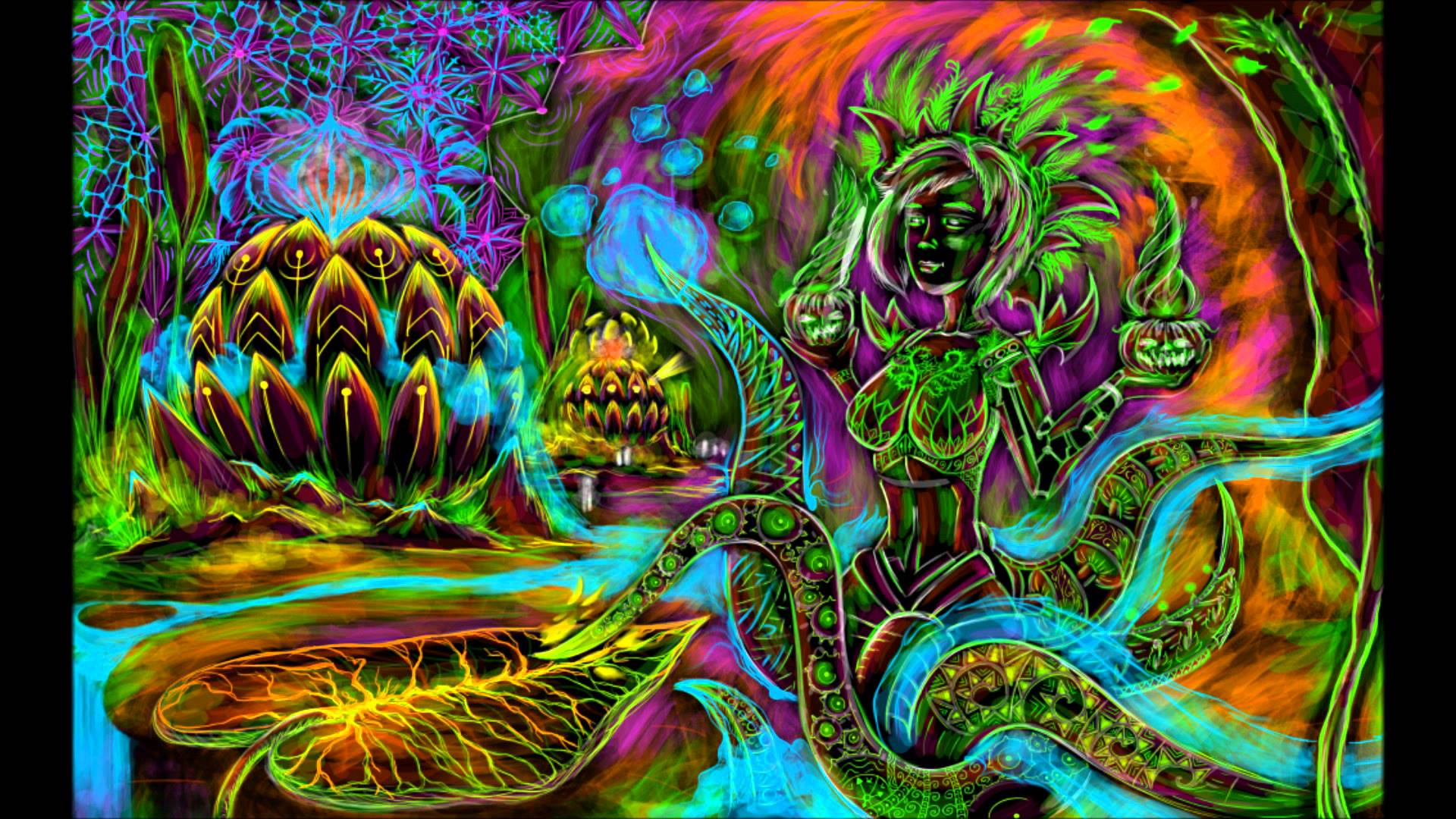 Trippy Buddha Wallpapers - Wallpaper Cave