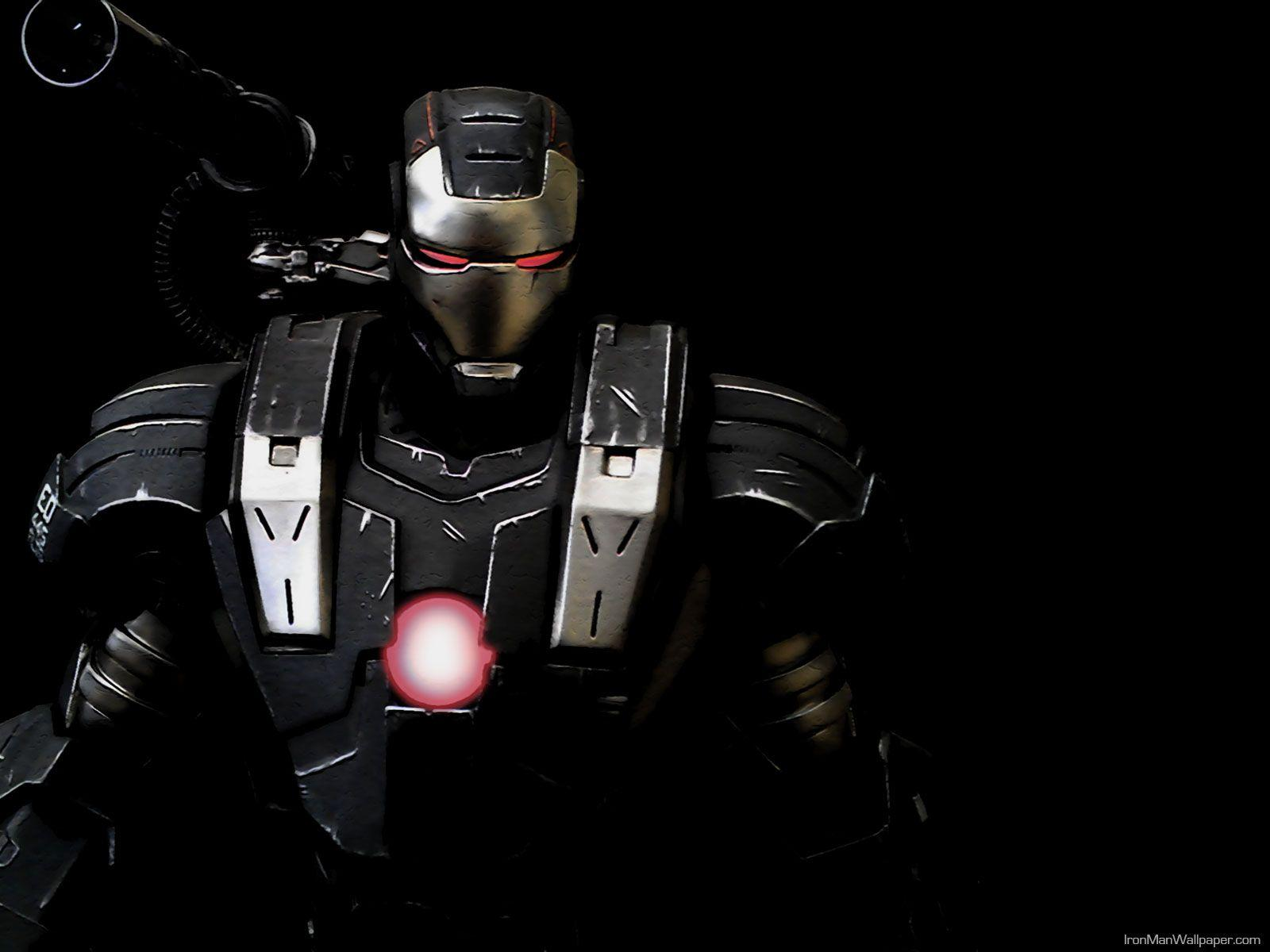 Black Iron Man Wallpapers Wallpaper Cave