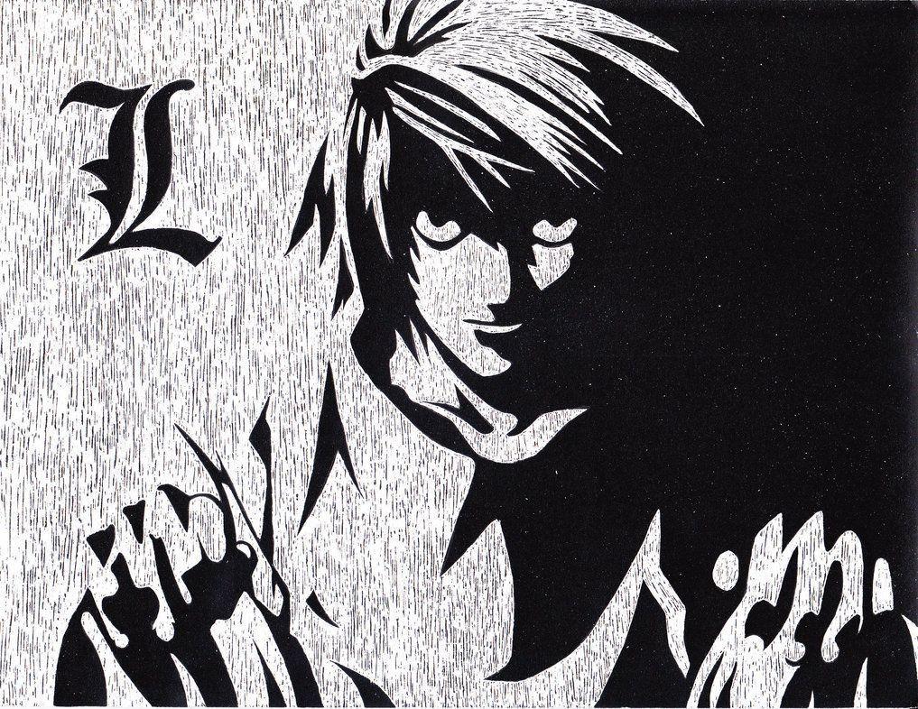 L Death Note Wallpapers Hd Wallpaper Cave