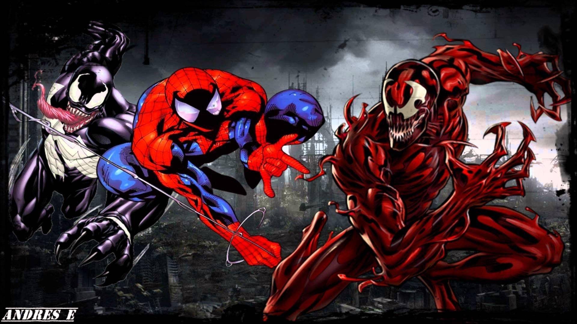 Venom Vs Carnage Wallpaper Hd