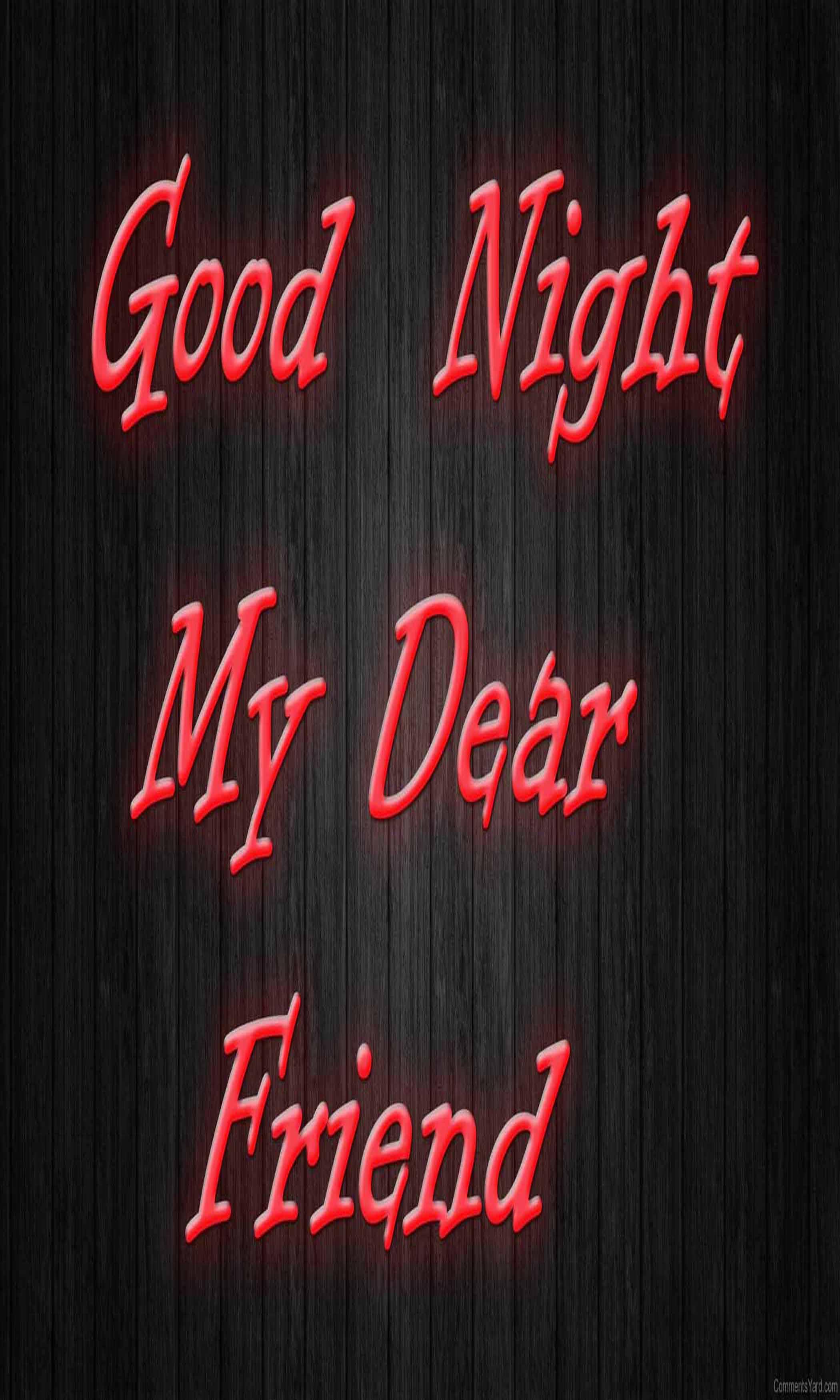 Good Night Friends Wallpapers HD - Wallpaper Cave