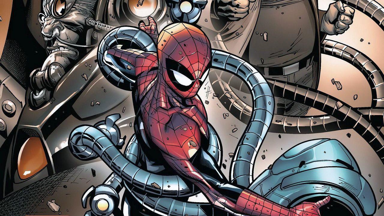 Marvels spiderman wallpapers wallpaper cave - Moving spider desktop ...