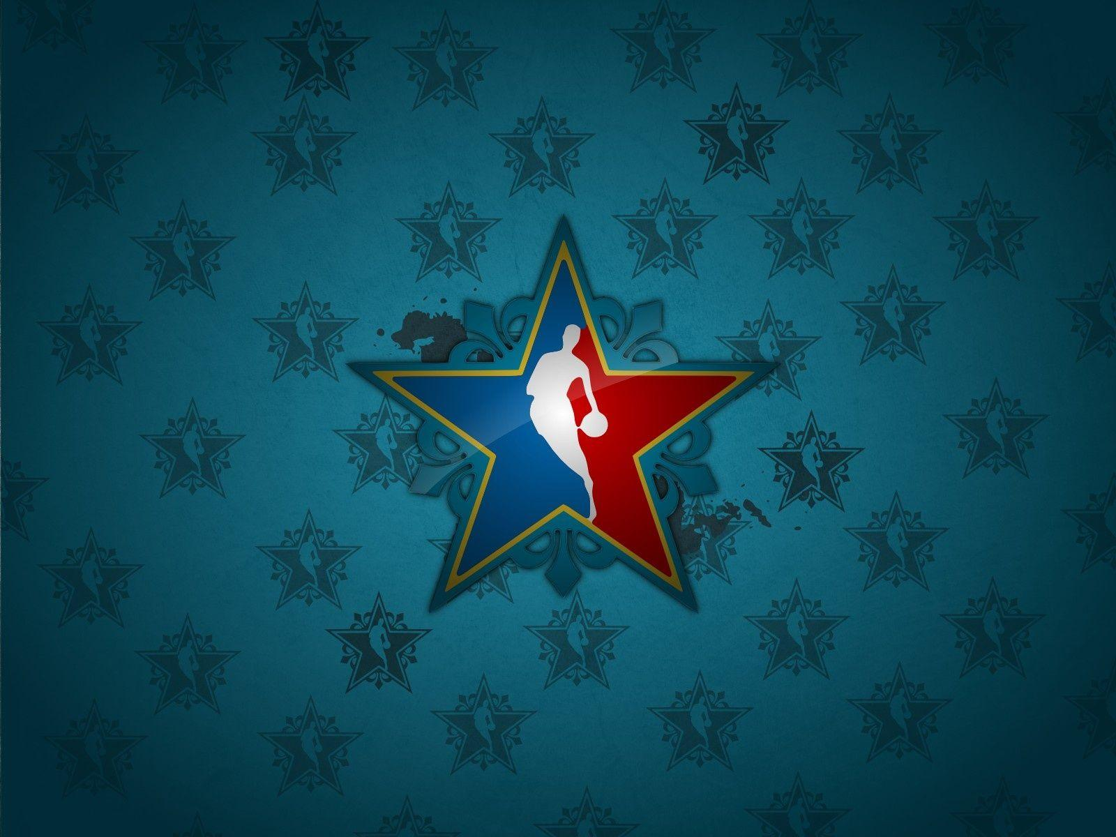 Wallpaper nba, logo, basketball, star desktop wallpaper » Sports ... Download