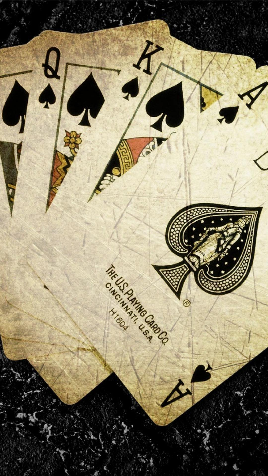 Playing Cards Wallpapers For Mobile Wallpaper Cave