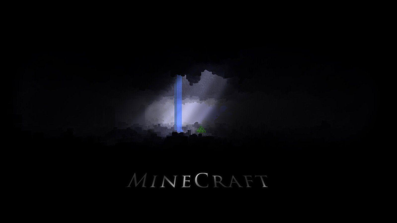 Black Minecraft Wallpapers Wallpaper Cave