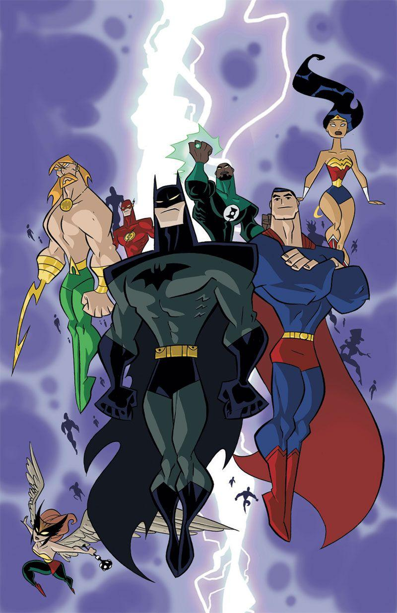 Justice League Unlimited Wallpapers - Wallpaper Cave