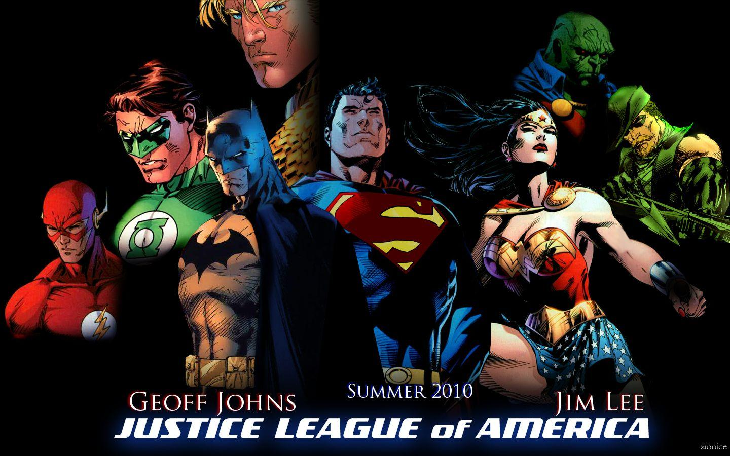 Justice League Unlimited Wallpapers Wallpaper Cave