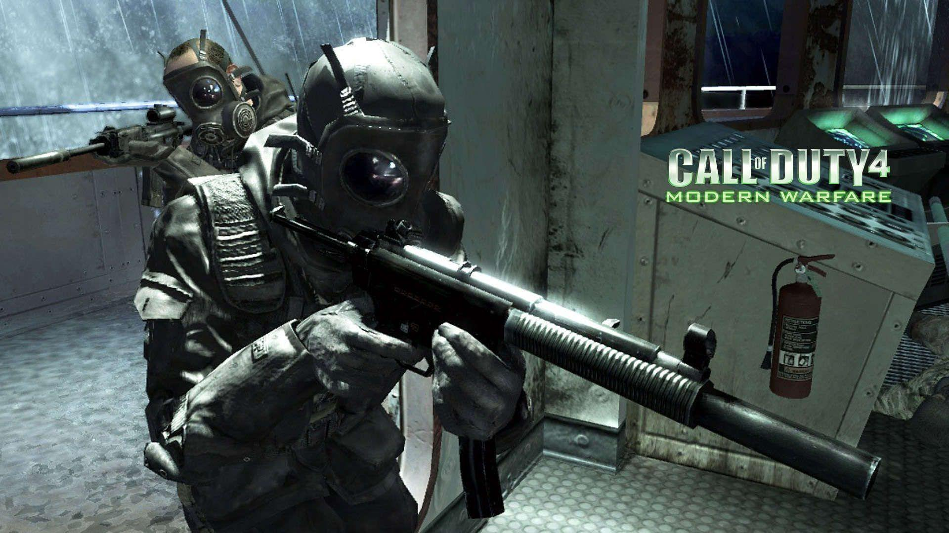 Call Of Duty 4 Game Wallpapers Hd Wallpaper Cave