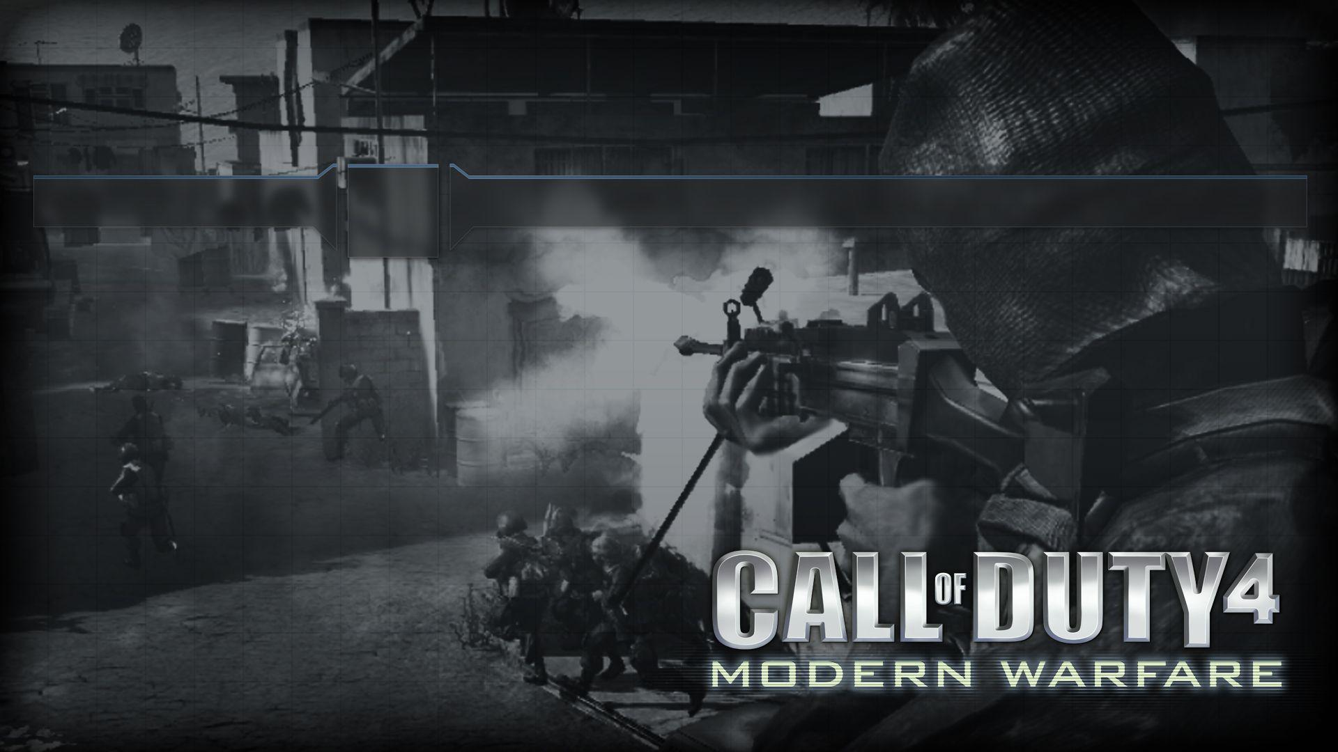 ps3 themes call of duty 4