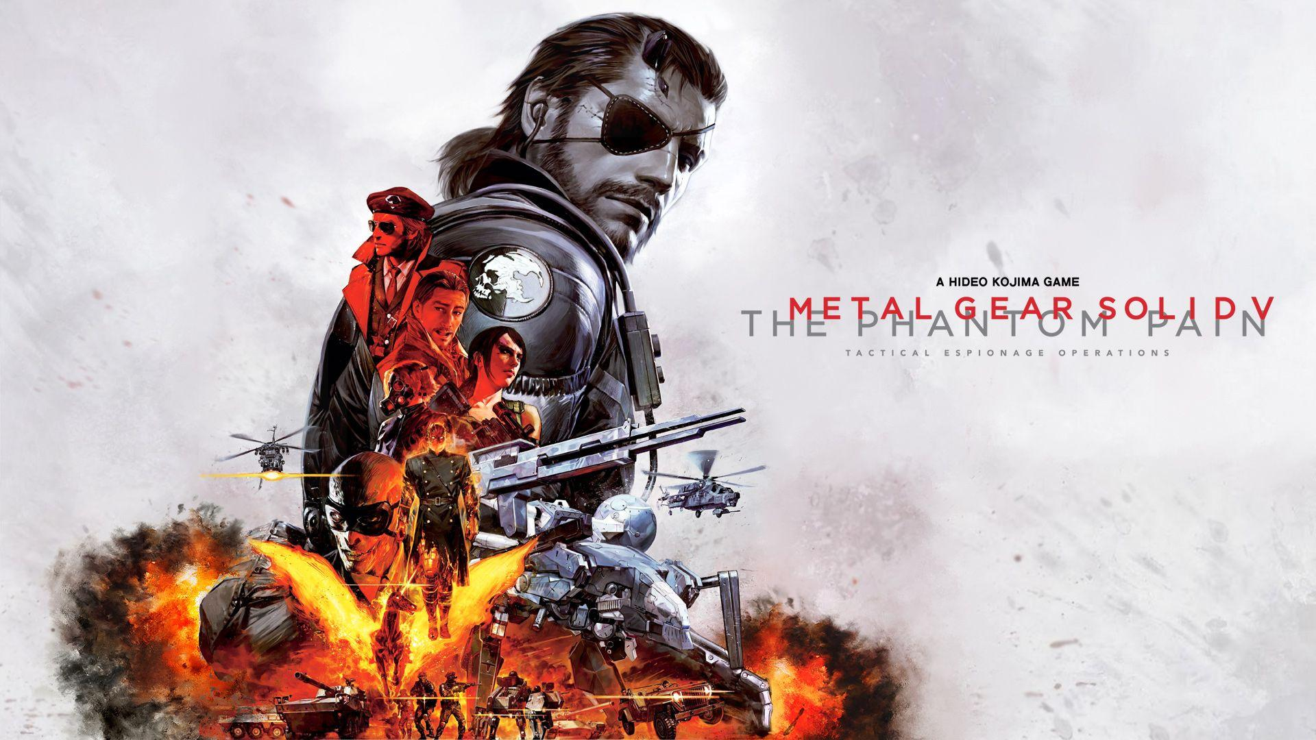 Metal Gear Solid 5 Wallpapers Wallpaper Cave