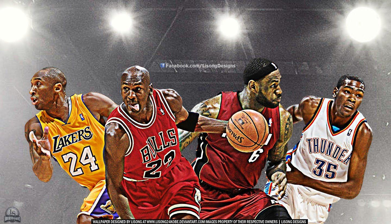 Kobe Bryant Lebron James And Michael Jordan Wallpapers Wallpaper