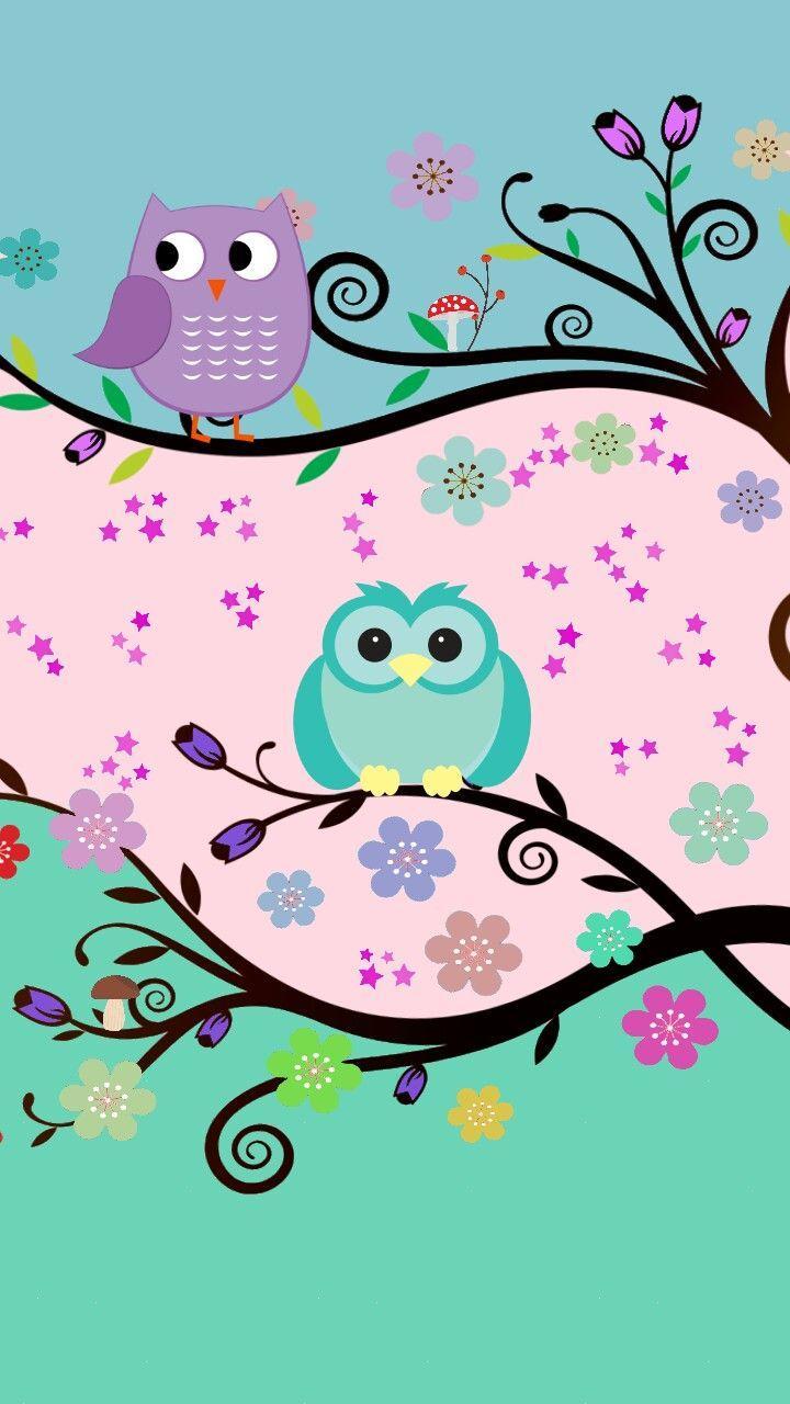 Wallpapers Owl Kartun - Wallpaper Cave